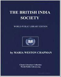 The British India Society by Chapman, Maria Weston
