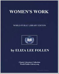 Women's Work by Follen, Eliza Lee