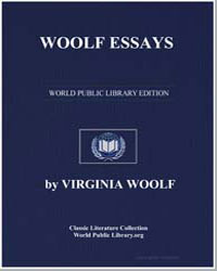 Woolf Essays by Woolf, Virginia