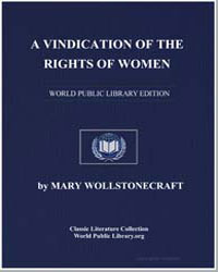A Vindication of the Rights of Woman by Wollstonecraft, Mary