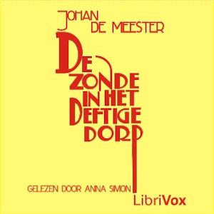 Zonde in het deftige dorp, De by Meester, Johan de