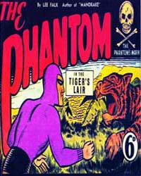 The Phantom: In the Tiger's Lair: Issue ... Volume Issue 2 by Falk, Lee