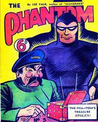 The Phantom: The Phantom's Treasure Stol... by Falk, Lee