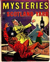 A-1 Comics : Scotland Yard : Issue 121 Volume Issue 121 by Magazine Enterprises