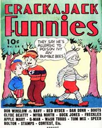 Buck Jones Crackajack Comics : Issue 14 Volume Issue 14 by Dell Comics
