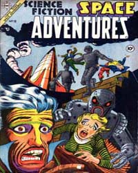 Space Adventures: Issue 10 by Charlton Comics