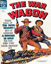 John Wayne Adventure Comics : The War Wa... by Dell Comics