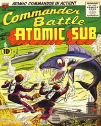 Commander Battle and the Atomic Sub : Is... Volume Issue 5 by American Comics Group/Acg