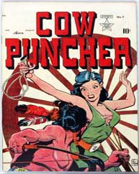 Cow Puncher Comics : Issue 7 Volume Issue 7 by Avon Comics