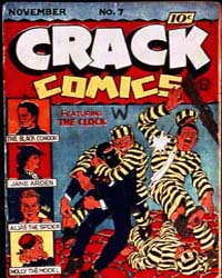 Crack Comics : Issue 7 Volume Issue 7 by Quality Comics