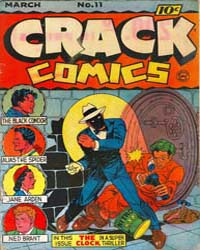 Crack Comics : Issue 11 Volume Issue 11 by Quality Comics