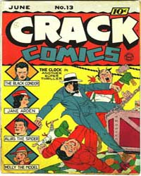 Crack Comics : Issue 13 Volume Issue 13 by Quality Comics