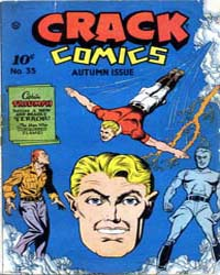 Crack Comics : Issue 35 Volume Issue 35 by Quality Comics