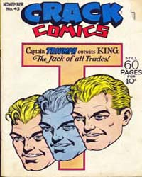 Crack Comics : Issue 45 Volume Issue 45 by Quality Comics