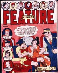 Feature Funnies : Issue 20 Volume Issue 20 by Quality Comics