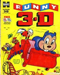 Funny 3-D : Issue 1 Volume Issue 1 by Harvey Comics
