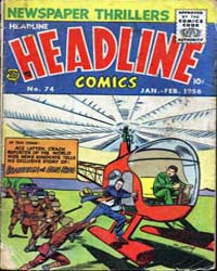 Headline Comics : Issue 74 Volume Issue 74 by Prize Comics Group