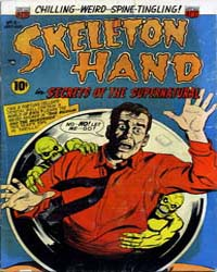 Skeleton Hand: Issue 6 Volume Issue 6 by American Comics Group/Acg