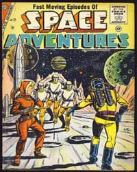 Space Adventures: Issue 21 by Charlton Comics