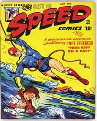 Speed Comics: Issue 44 Volume Issue 44 by Harvey Comics