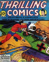 Thrilling Comics: Issue 21 Volume Issue 21 by Standard Comics
