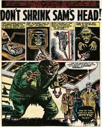 Mystic: Don'T Shrink Sam's Head: Issue 2... Volume Issue 23 by Atlas Comics