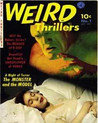 Weird Thrillers: Issue 1 Volume Issue 1 by Ziff-Davis Publications