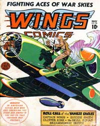 Wings Comics: Issue 33 Volume Issue 33 by Fiction House