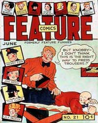 Feature Comics : Issue 21 Volume Issue 21 by Quality Comics