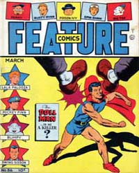 Feature Comics : Issue 86 Volume Issue 86 by Quality Comics