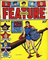Feature Comics : Issue 98 Volume Issue 98 by Quality Comics