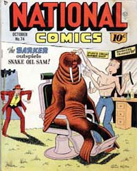 National Comics: Issue 74 Volume Issue 74 by Quality Comics