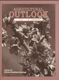Agricultural Outlook : April 1986 Volume Issue April 1986 by Usda
