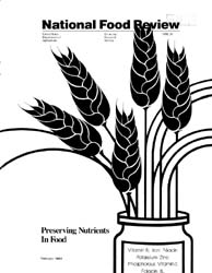 National Food Review : 1983 Volume Issue No. 20, 1983 by Morrison, Rosanna Mentzer