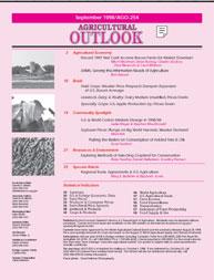 Agricultural Outlook : September 1998 Volume Issue September 1998 by Usda