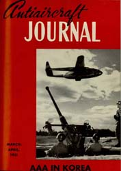 Antiaircraft Journal : March-April 1951 Volume 94, Issue 2 by Brady, Colonel W. I.