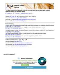 Applied Physics Letters : Terahertz elec... Volume Issue : December 2008 by M. A. Seo, J. H. Yim, Y. H. Ahn, F. Rotermund, D. ...