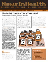 National Institutes of Health (Nih) News... Volume June 2005 ; The End of One-Size-Fits-All Medicine? by Wein, Harrison
