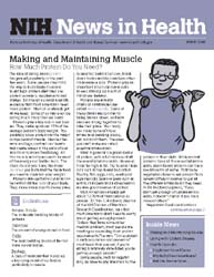 National Institutes of Health (Nih) News... Volume March 2008 ; Making and Maintaining Muscle by Wein, Harrison