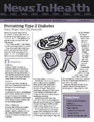 National Institutes of Health (Nih) News... Volume November 2005 ; Preventing Type 2 Diabetes by Wein, Harrison