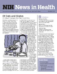 National Institutes of Health (Nih) News... Volume November 2006 ; Of Guts and Gluten by Wein, Harrison