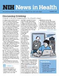 National Institutes of Health (Nih) News... Volume September 2006 ; Discussing Drinking by Wein, Harrison