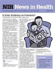 National Institutes of Health (Nih) News... Volume September 2007 ; Is Baby Babbling on Schedule? by Wein, Harrison