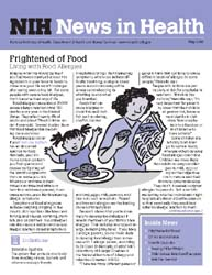 National Institutes of Health (Nih) News... Volume May 2008 ; Frightened of Food by Wein, Harrison