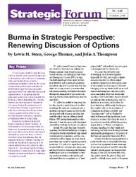 Center for Strategic Research (Csr) Stra... Volume Strategic Forum 249 by Stern, Lewis M.