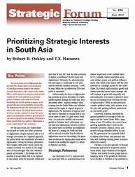Center for Strategic Research (Csr) Stra... Volume Strategic Forum 256 by Oakley, Robert B.