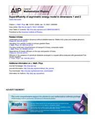 Journal of Mathematical Physics : Superd... Volume Issue : October 2008 by Cédric Bernardin