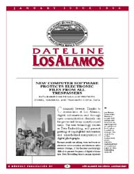 Dateline : Los Alamos; January 1996 Volume January 1996 by Coonley, Meredith