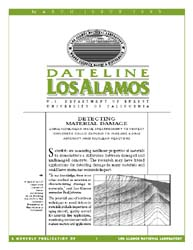 Dateline : Los Alamos; March 1999 Volume March 1999 by Coonley, Meredith