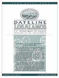 Dateline : Los Alamos; June 2001 Volume June 2001 by Coonley, Meredith